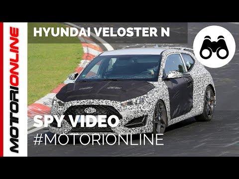 Hyundai Veloster N | Spy video (August 2017)