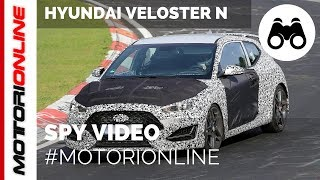Hyundai Veloster N | Spy video (August 2017)