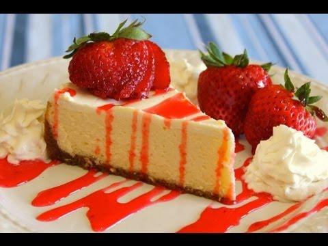 How to Make Easy Homemade New York Style Cheesecake - No Fuss Recipe - UC8vC7fR1-acdn46yBD1RgQA