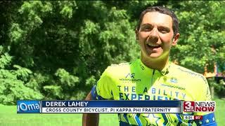 Fraternity Raising Awareness Through Cross-County Cycling