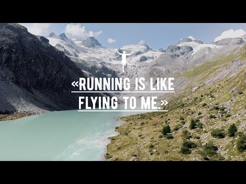 Running is like flying to me