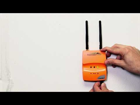Snap and Fit Wireless Sensor Install