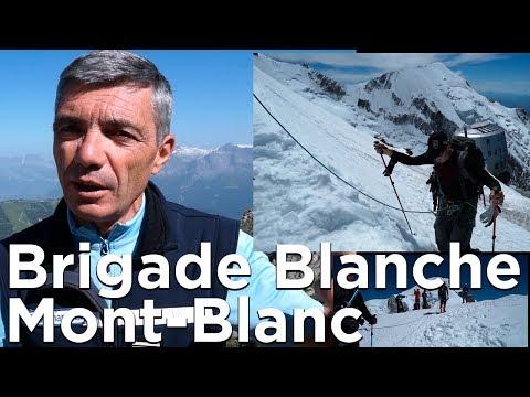 Brigade Blanche Voie Normale du Mont-Blanc réservation des refuges obligatoire