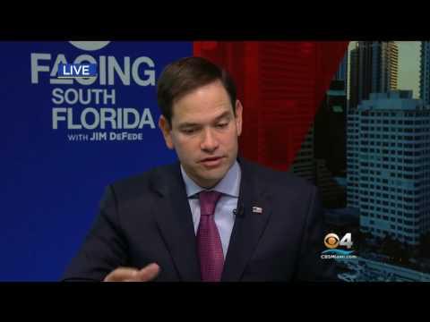Marco Rubio On CBS Miami: Facing South Florida