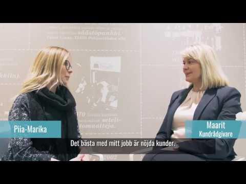 Finansiell expert Maarit I Sparbanken