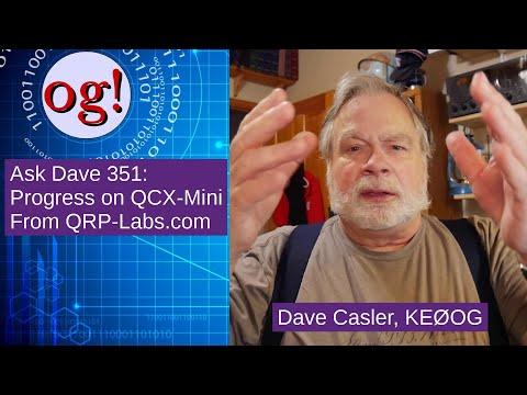 QCX-mini Kit Build Status with Discussion of Kit Building Technique (#351)