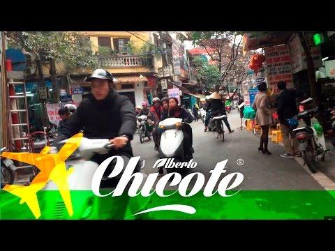 Alberto Chicote Viajes | Trafico en Hanoi VIETNAM #7