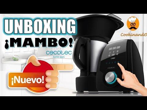 """¿COMO FUNCIONA MAMBO"""" UNBOXING COMPLETO DEL NUEVO ROBOT DE COCINA DE CECOTEC"""