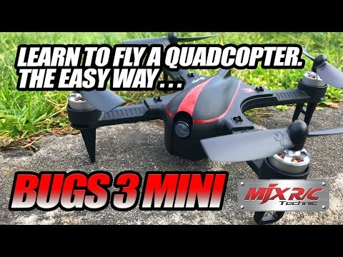 MJXRC MJX Bugs 3 Sport Quadcopter - [ Flight Test, PROS & CONS, Full Review ]