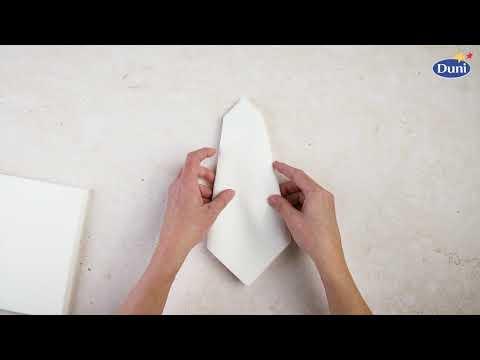 Napkin Folding Cone