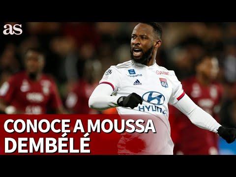 ¿Despuntará en el Atleti?: Moussa Dembélé, de un barrio humilde de París a los elogios de Zidane