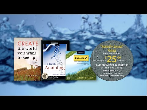 Anointed For Success Package (As seen on RHEMA Praise TV)