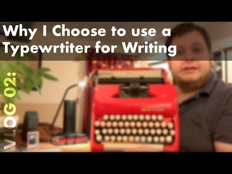 Why I Choose to Use a Typewriter For Writing - default