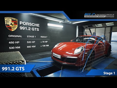 Porsche 991.2 GTS Stage 1 By BR-Performance
