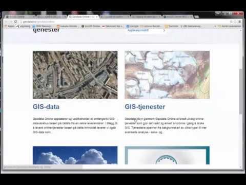Oppsett av Offline-kart i ArcGIS Online