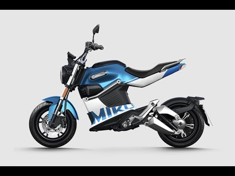 SunRa Miku Super 3kw 50mph Electric Motorcycle Ride Review & Speed Test : Green-Mopeds