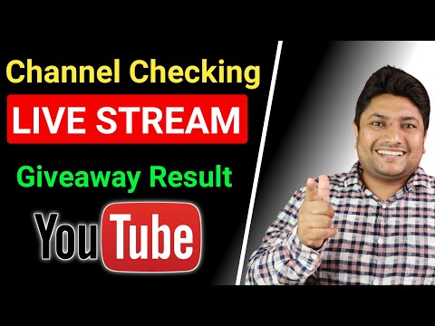 Sunday Channel Checking Live Stream & Giveaway Result   29 August 2021