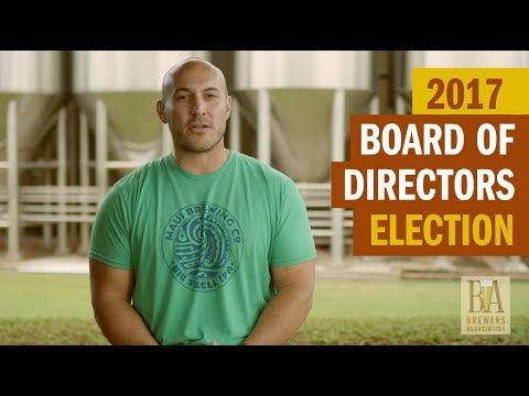 Vote for Your 2017 Brewers Association Board of Directors