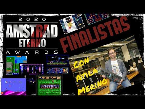 Los Finalistas de los Amstrad Eterno Awars 2020 con Atila Merino