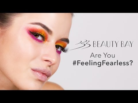 Unconventional Colour at Beauty Bay. Are You #FeelingFearless?