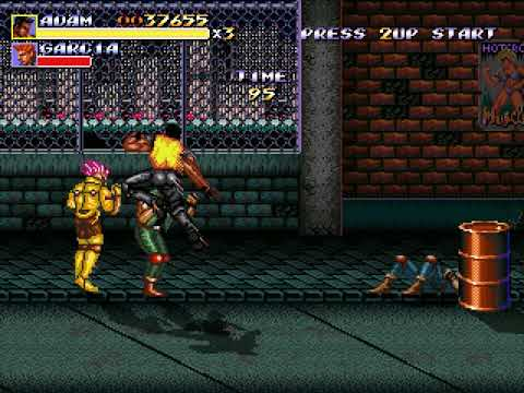 Streets of Rage Remake (Route 1: Adam) (Bomber Games) [2011] [PC Longplay]
