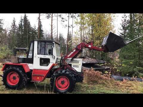 Köp Traktor MB Trac 440 65/70 med redskap på Klaravik