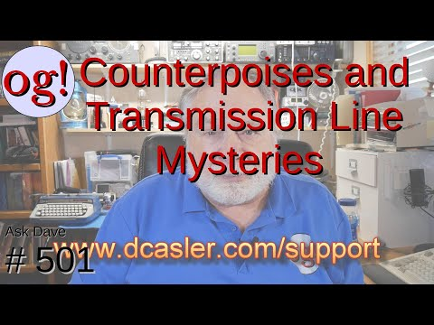 Counterpoises and Transmission Line Mysteries (#501)