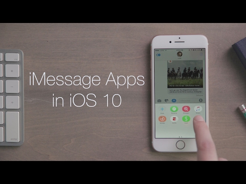 iMessage Apps in iOS 10 | iOS Quick Looks