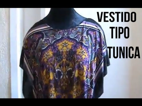 Como Hacer Un Vestido Tipo Tunica - Jazmin Gastelum - UC9tA505FttJI9jsEdPgeQ5A