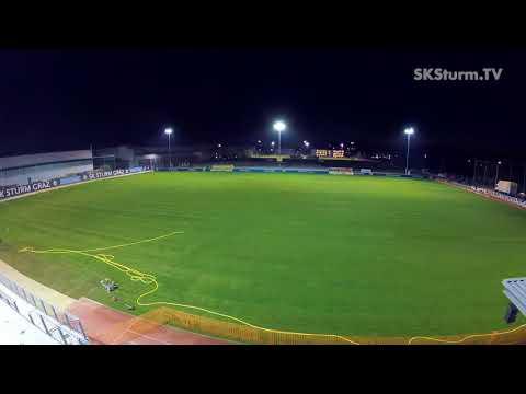 STRABAG Sportstättenbau GmbH - Neue Rasenflächen für SK Sturm Graz im Rekordtempo