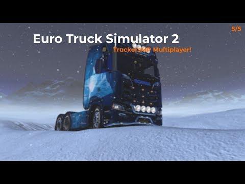 Euro Truck Simulator 2  TruckersMP  Part 55 Opname 04012018
