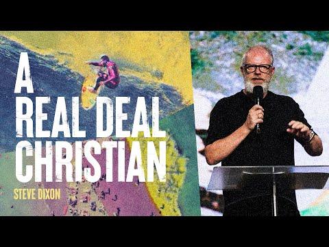 A Real Deal Christian  Steve Dixon  Hillsong Church Online