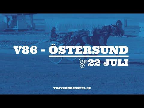 V86 tips - Östersund - 22 juli 2020