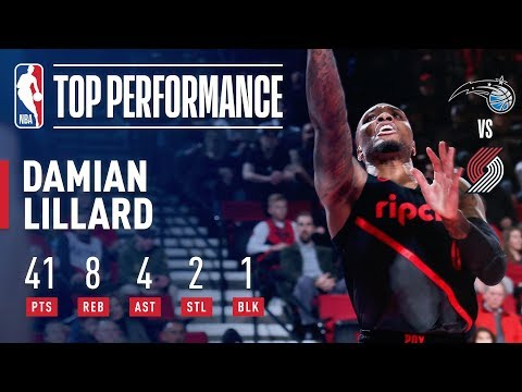 Damian Lillard Sets A Franchise Record With 10 Three-Pointers | November 28, 2018