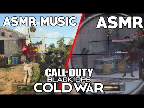ASMR GAMING   Call Of Duty: ColdWar   Snipers ONLY Match ~ ASMR Music & Whispering