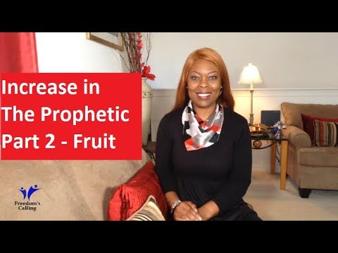 Increase in The Prophetic Part 2 - Fruit