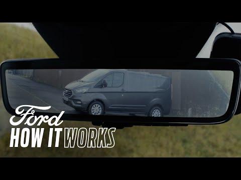 Zpětné zrcátkos celoplošným displejem – Jak to funguje | Ford Česká republika