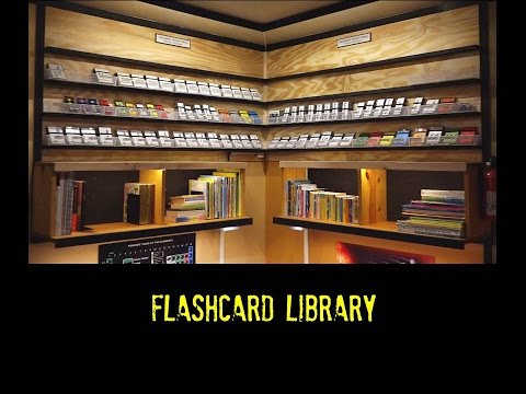Flashcard Library - Organizing Learning Materials