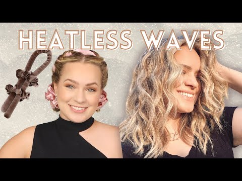Heatless Natural Beachy Waves!! – KayleyMelissa