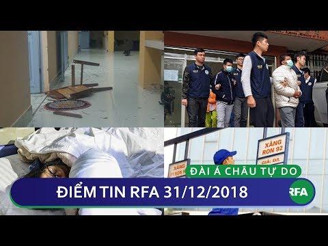 Điểm tin RFA tối 31/12/2018   Chỉ đạo không tăng giá xăng trong ngày đầu năm 2019