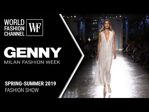 Genny | spring-summer 2019 Milan fashion week
