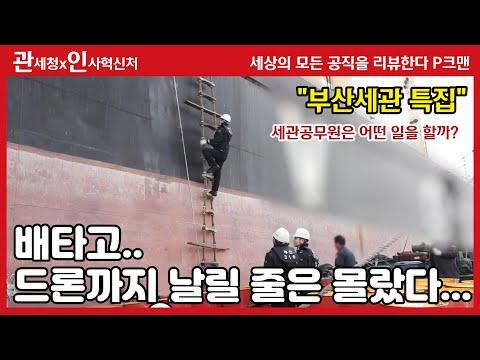 뚜둥 인사혁신처의 P크맨이 부산세관에???