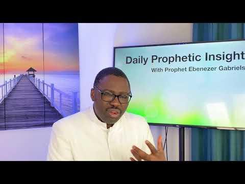 Prophetic Insight  Jun 15th, 2021