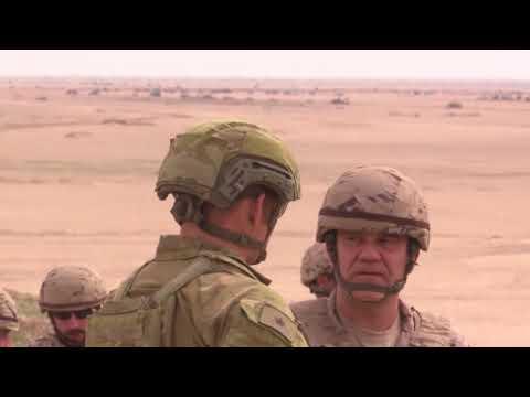 DFN: Coalition live fire exercise enhances Iraqi combat capabilities, BESMAYAH, IRAQ, 03.06.2018