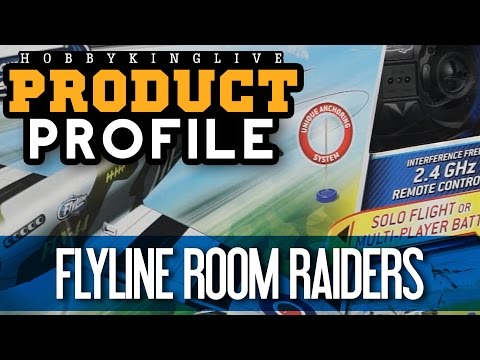 Flyline Room Raiders - Product Profile - HobbyKing Live - UCkNMDHVq-_6aJEh2uRBbRmw