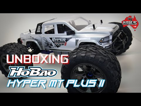 Unboxing: HoBao Hyper MT Plus II 1/7 Scale Monster Truck
