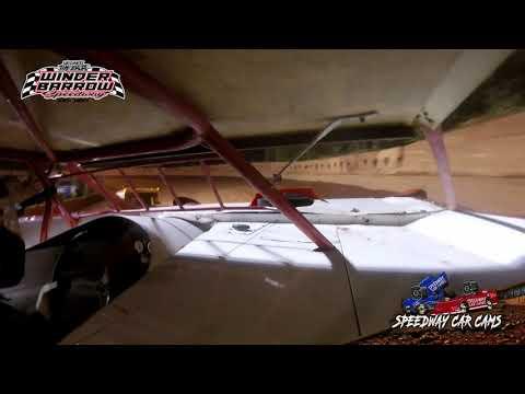 #15C Daniel Bray - 602 Late Model - 9-4-21 Winder Barrow Speedway - In-Car Camera - dirt track racing video image