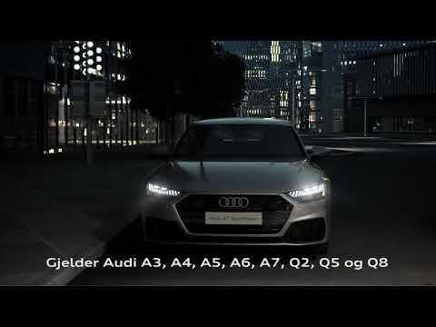 Stor rentekampanje på Audi A7 og andre utvalgte Audi-modeller