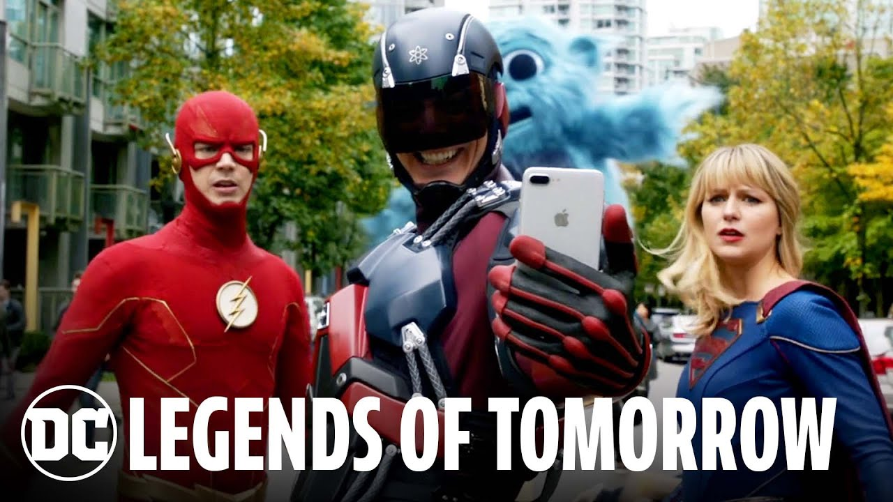 DC's Legends of Tomorrow – 100 Episodes in 100 Seconds | DC FanDome 2021