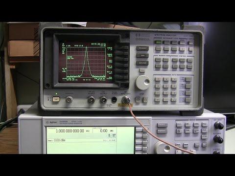 #43 - HP 8590A spectrum analyzer repair -  part 1 of 3